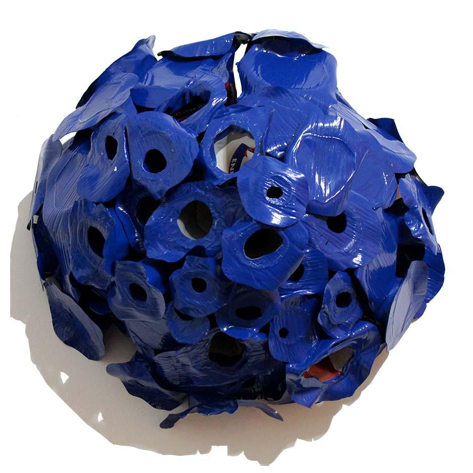 Blue Half Sphere